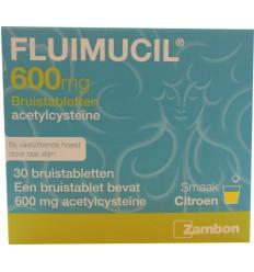 Neus Keel Luchtwegen Fluimucil 600 mg 30 bruistabletten kopen