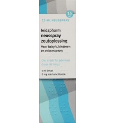 Leidapharm Zoutoplossing 15 ml | Superfoodstore.nl