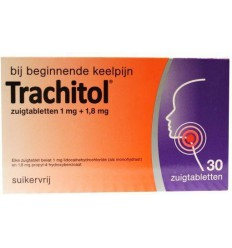 Trachitol 30 zuigtabletten | Superfoodstore.nl