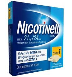 Stoppen met roken Nicotinell TTS30 21 mg 14 stuks kopen