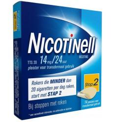 Stoppen met roken Nicotinell TTS20 14 mg 14 stuks kopen