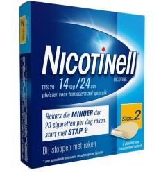 Nicotinell TTS20 14 mg 7 stuks | € 21.25 | Superfoodstore.nl