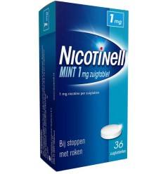 Nicotinell Mint 1 mg 36 zuigtabletten | Superfoodstore.nl