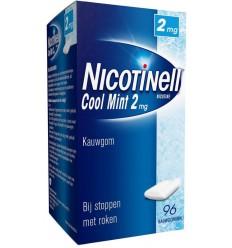 Nicotinell Kauwgom cool mint 2 mg 96 stuks | € 25.37 | Superfoodstore.nl