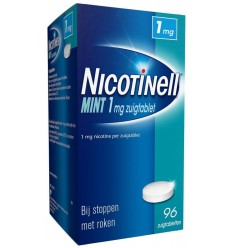 Nicotinell Mint 1 mg 96 zuigtabletten | Superfoodstore.nl