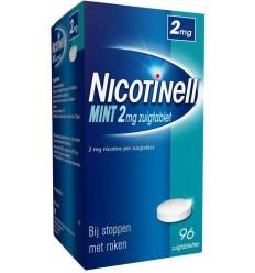 Stoppen met roken Nicotinell Mint 2 mg 96 zuigtabletten kopen
