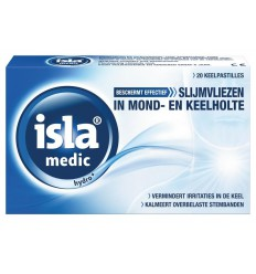 Isla Medic hydro pastilles 20 stuks | Superfoodstore.nl