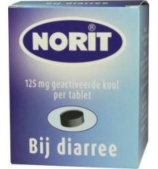 Norit 125 mg 180 tabletten   Superfoodstore.nl