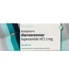 Leidapharm Loperamide 2 mg 10 capsules   Superfoodstore.nl