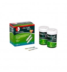 On Call Extra glucose teststrips 50 stuks | € 19.51 | Superfoodstore.nl