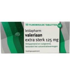 Leidapharm Valeriaanextract 125 mg 50 tabletten |