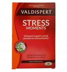 Rustgevende Supplementen Valdispert stress moments 20 tabletten