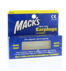 Macks Earplugs 4 stuks | Superfoodstore.nl
