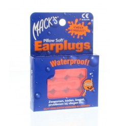 Macks Earplugs kids 6 paar | Superfoodstore.nl