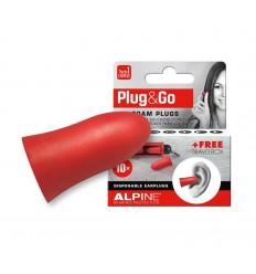Alpine Plug & go rood 5 paar | Superfoodstore.nl