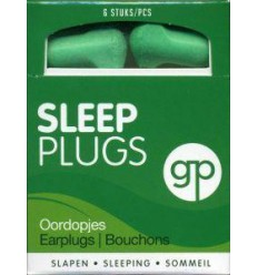 Get Plugged Sleep plugs 3 paar | € 2.74 | Superfoodstore.nl