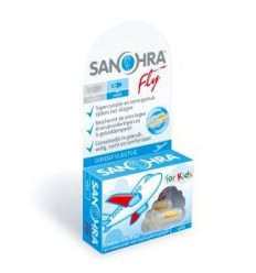 Sanohra Oordop vliegtuig fly small kind 1 paar |