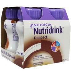 Nutridrink Compact chocolade 125 ml 4 stuks   Superfoodstore.nl