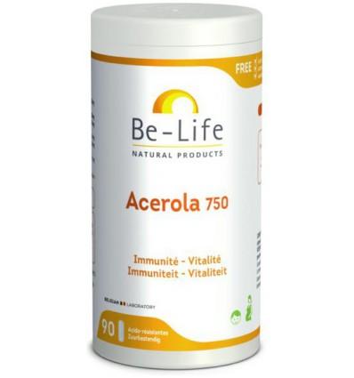 Be-Life Acerola 750 bio 90 softgels kopen