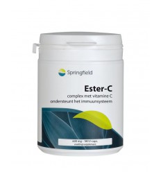 Springfield Ester-C gebufferde vitamine C 180 vcaps |