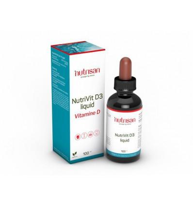 Nutrisan Nutrivit D3 liquid 100 ml | Superfoodstore.nl