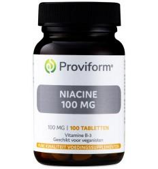 Proviform Vitamine B3 niacine 100 mg 100 tabletten |