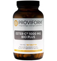 Proviform Ester C 1000 mg bioflavonoiden plus 180 tabletten |