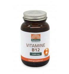 Mattisson Vitamine B12 5000 mcg 60 tabletten | Superfoodstore.nl