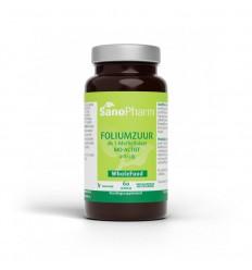 Vitamines Sanopharm Foliumzuur 400 mcg 60 capsules kopen