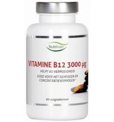 Nutrivian Vitamine B12 methylcobalamine 3 mg 60 zuigtabletten |