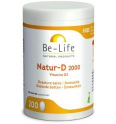 Be-Life Natur-D 2000 200 capsules   Superfoodstore.nl