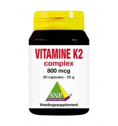 Vitamine K SNP Vitamine K2 complex 800 mcg 60 capsules kopen