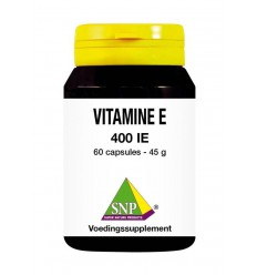 SNP Vitamine E 400 IE 60 capsules | Superfoodstore.nl