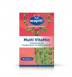 Wapiti Multi vitamin 45 tabletten | Superfoodstore.nl