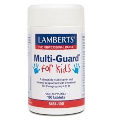 Lamberts Multi-guard for kids (playfair) 100 kauwtabletten | € 18.92 | Superfoodstore.nl