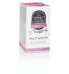Royal Green Multi woman 60 tabletten   Superfoodstore.nl
