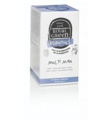 Royal Green Multi man 60 tabletten   Superfoodstore.nl