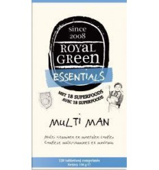 Royal Green Multi man 120 tabletten | Superfoodstore.nl