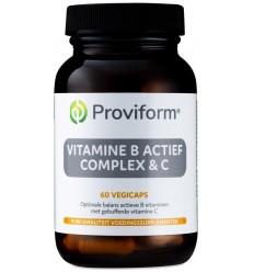 Proviform Vitamine B actief complex & C 60 vcaps |