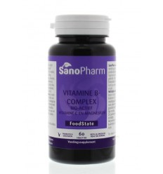 Sanopharm Vitamine B complex & C & magnesium 60 tabletten | € 21.04 | Superfoodstore.nl