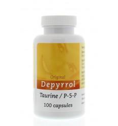Depyrrol Taurine P5P 5 mg 100 capsules | Superfoodstore.nl