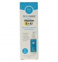 Best Choice Vitaminespray vitamine D3 + K2 25 ml |
