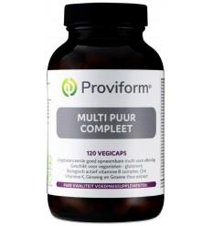 Proviform Multi puur compleet 120 vcaps | Superfoodstore.nl