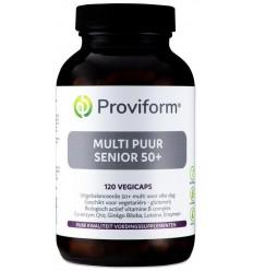 Proviform Multi puur senior 50+ 120 vcaps | Superfoodstore.nl