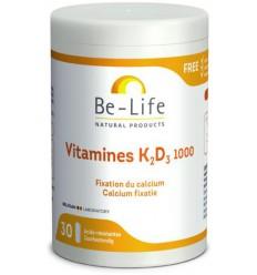 Be-Life Vitamine K2-D3 1000 30 capsules   Superfoodstore.nl