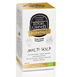 Royal Green Multi gold 90 vcaps | € 37.29 | Superfoodstore.nl
