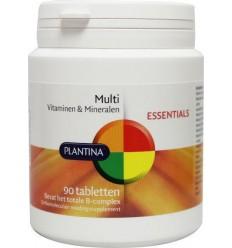 Plantina Vitamine multi 90 tabletten | € 36.49 | Superfoodstore.nl