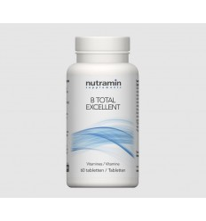 Nutramin B Total excellent 60 tabletten | € 30.23 | Superfoodstore.nl