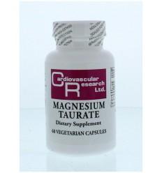 Cardio Vasc Res Magnesium tauraat 60 capsules |