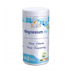 Be-Life Magnesium 500 180 softgels   Superfoodstore.nl